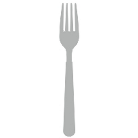 Serving fork stainless steel 18/10 3mm