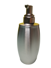 Load image into Gallery viewer, Crayton Stainless Steel Oval Shaped Liquid Soap/Lotion Dispenser
