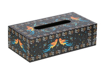 Load image into Gallery viewer, Crayton Birds Closed MDF Big Tissue Paper Box Holder