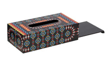 Load image into Gallery viewer, Crayton Geometric Closed MDF Big Tissue Paper Box Holder