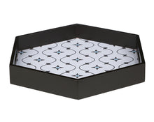 Load image into Gallery viewer, Crayton Star MDF Large Hexagon Serving Tray