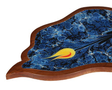 Load image into Gallery viewer, Crayton Mango Wood Leaf Shaped Tray