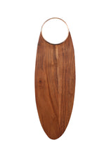 Load image into Gallery viewer, Crayton Side Metal Handle Chopping Board in Mango Wood