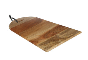 Crayton Natural Brown Mango Wood Chopping Board