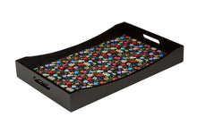 Load image into Gallery viewer, Crayton Floral MDF Large Rectangular Serving Tray
