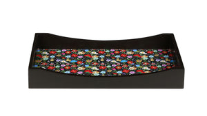 Crayton Floral MDF Medium Rectangular Serving Tray