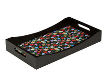 Load image into Gallery viewer, Crayton Floral MDF Medium Rectangular Serving Tray