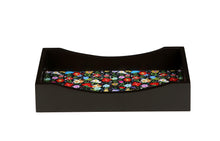Load image into Gallery viewer, Crayton Floral MDF Rectangular Serving Tray Set of 3