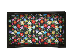 Crayton Floral MDF Small Rectangular Serving Tray