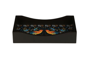 Crayton Birds MDF Small Rectangular Serving Tray