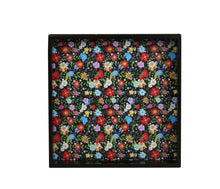 Load image into Gallery viewer, Crayton Floral MDF Square Serving Tray Set of 2