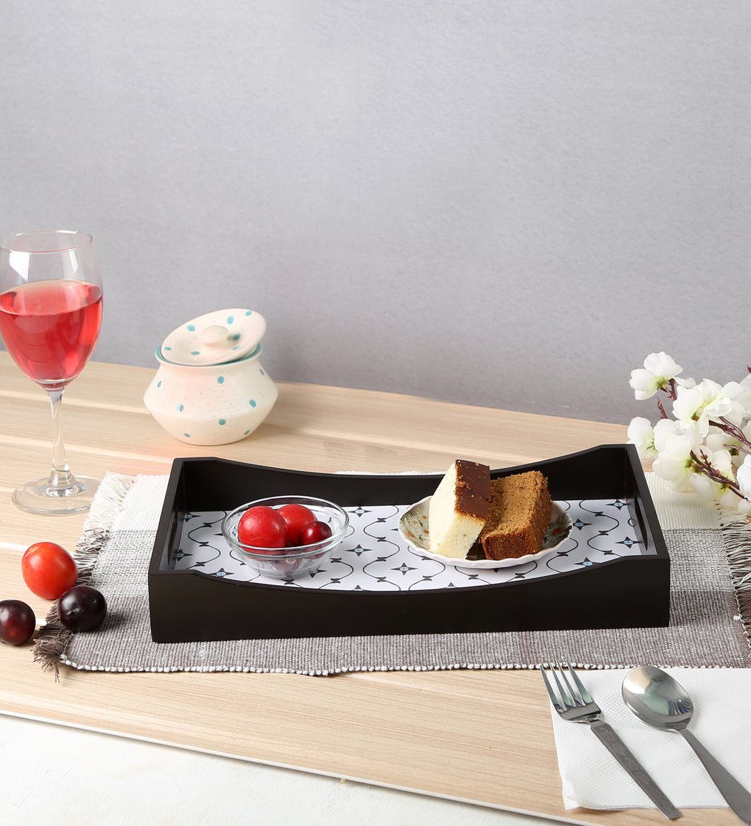 Crayton Star MDF Medium Rectangular Serving Tray