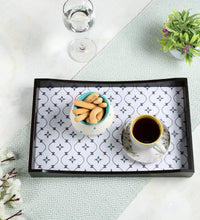 Load image into Gallery viewer, Crayton Star MDF Large Rectangular Serving Tray