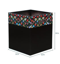 Load image into Gallery viewer, Crayton Floral Laundry Box/ Organiser