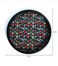 Load image into Gallery viewer, Crayton Floral Round MDF Wall Hanging