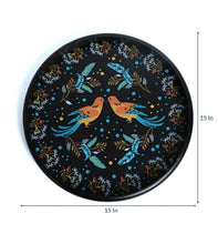 Load image into Gallery viewer, Crayton Bird Round MDF Wall Hanging Set (Set of 4)