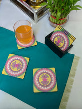 Load image into Gallery viewer, Crayton Square Madhuban Pattern MDF Coaster