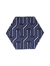 Load image into Gallery viewer, Crayton Hexagon B&W Pattern MDF Coaster