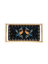 Load image into Gallery viewer, Crayton Birds Rectangular Mango Wood Small Serving Tray