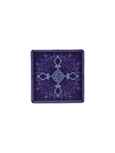 Load image into Gallery viewer, Crayton Square Purple and Green Mughal Art MDF Coaster