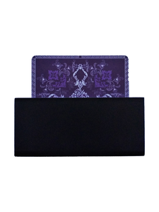 Crayton Square Purple Mughal Art MDF Coaster
