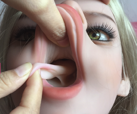 HRDOLL Built-In Tongue