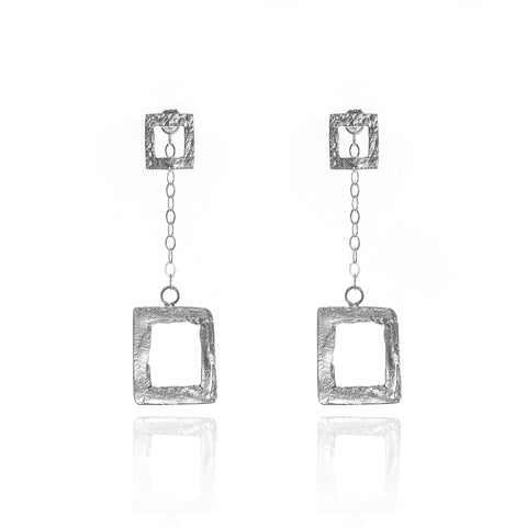 """Two in One"" ""All Squared Up"" Earrings"