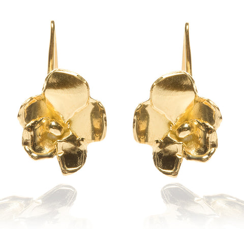 """Bloom"" Drop Earrings - 18kt Vermiel"