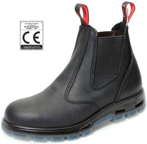 "Redback ""Safety"" Boot Bobcat Black Oil Kip USBBK"