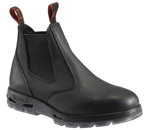 Redback Soft Toe Black Leather Boot UBBK