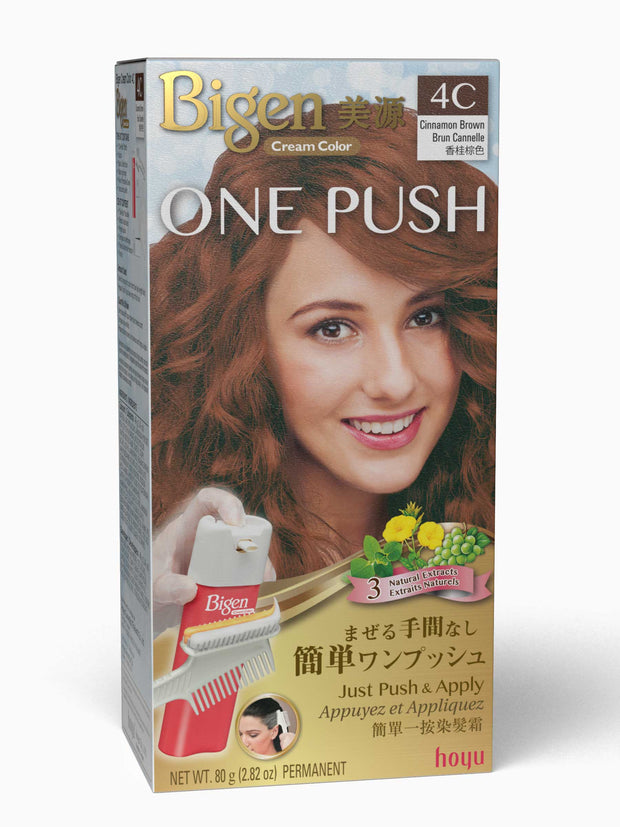 Bigen One Push 4C - Cinnamon Brown