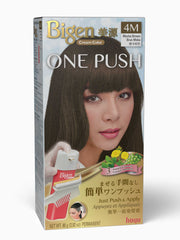 Bigen One Push 4M - Mocha Brown