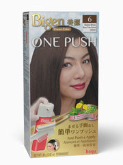 Bigen One Push 6 - Darkest Brown
