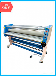 65in Master VT-9600 ROLL TO ROLL cold laminator w/Rewind