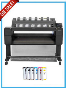 HP DesignJet T920 36-inch Printer series - Recertified - (90 Days Warranty) + Starter Supplies