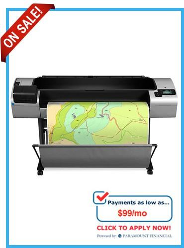 CR652A HP Designjet T1300PS 44