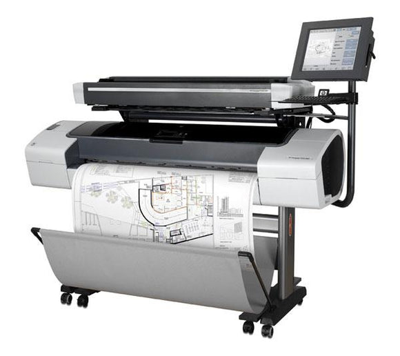 HP Designjet T1100 MFP 44-inch Printer - Recertified - (90 days Warranty)