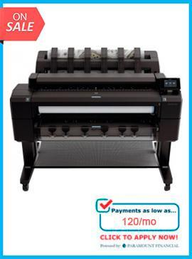 HP Designjet T2500PS 36-in eMFP - Recertified - (90 Days Warranty)