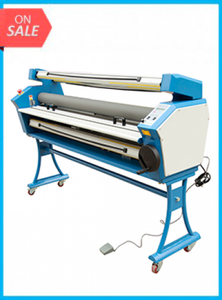 "55"" Full-auto Low Temp. Wide Format Cold Laminator, with Heat Assisted"