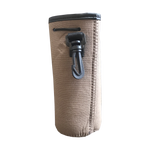 Burlap Bottle Koozie