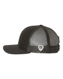 Black Guitar Trucker Hat
