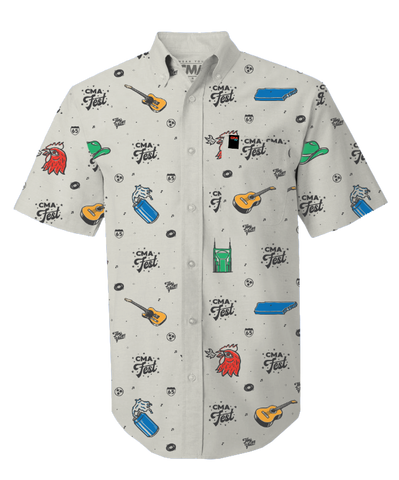 Nashville Essentials Print Button Down