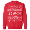 Tacky Country Christmas Sweater