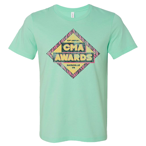 2019 CMA Awards Mint Tee