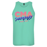 Summer Stay-Cay Logo Tank