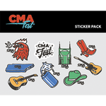 Nashville Essentials Sticker Pack