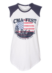 Sleeveless Patriotic Tee