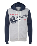 Two-Toned Nashville Zip-Up