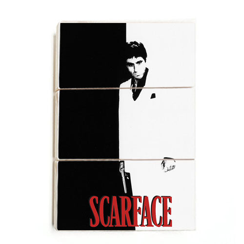 Scarface- Movie Cover (Wood)