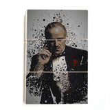 Vito Corleone - Painting ™ (Wood)